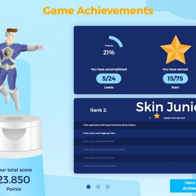 Deb Group Gamification Skin Hero